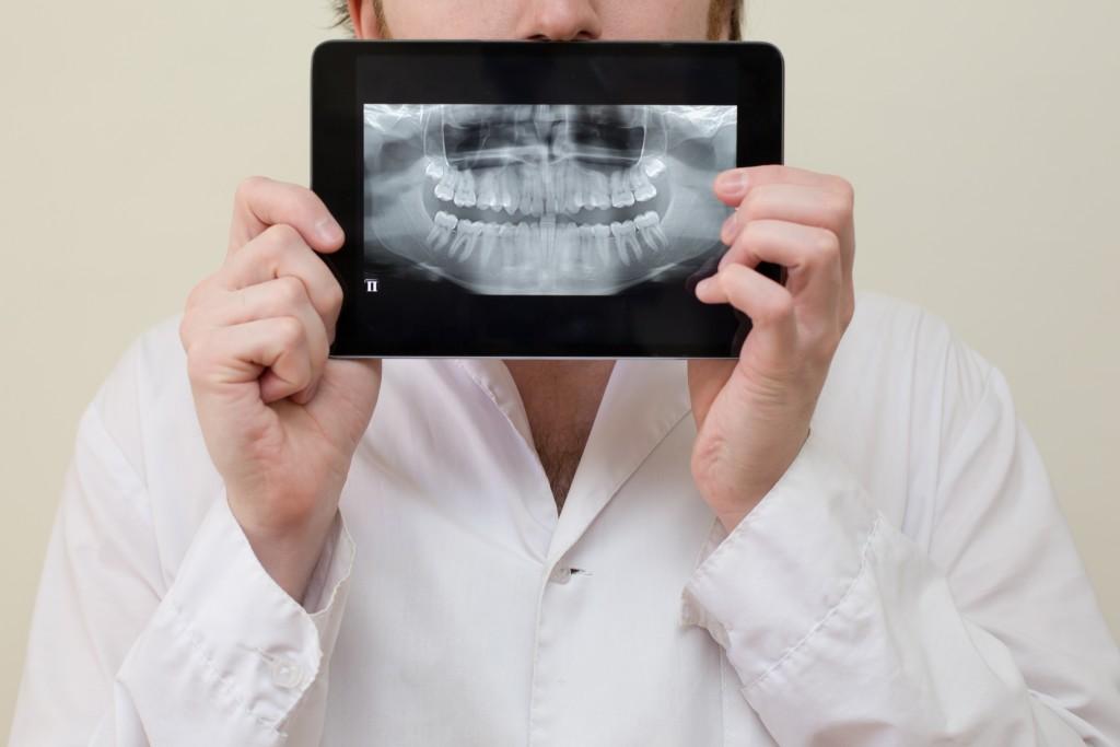 x ray tablet dental